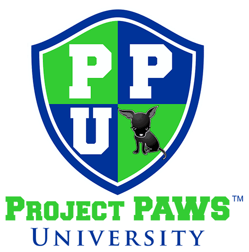 project paws university logo