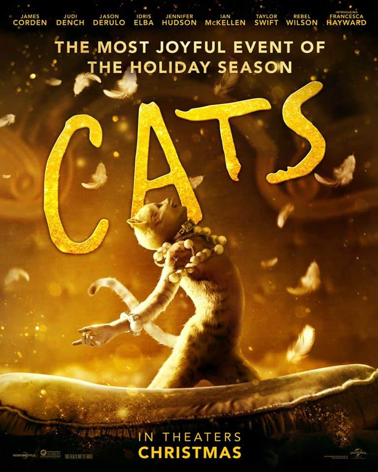 Movie poster of Cats The Movie