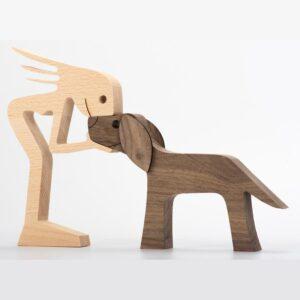 BessGear Wooden Dog Cutout