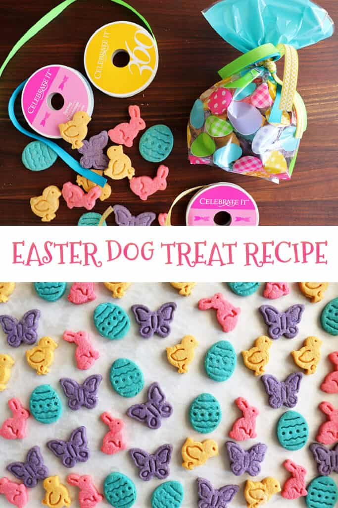 PIN for Homemade Easter Dog Treat Recipe