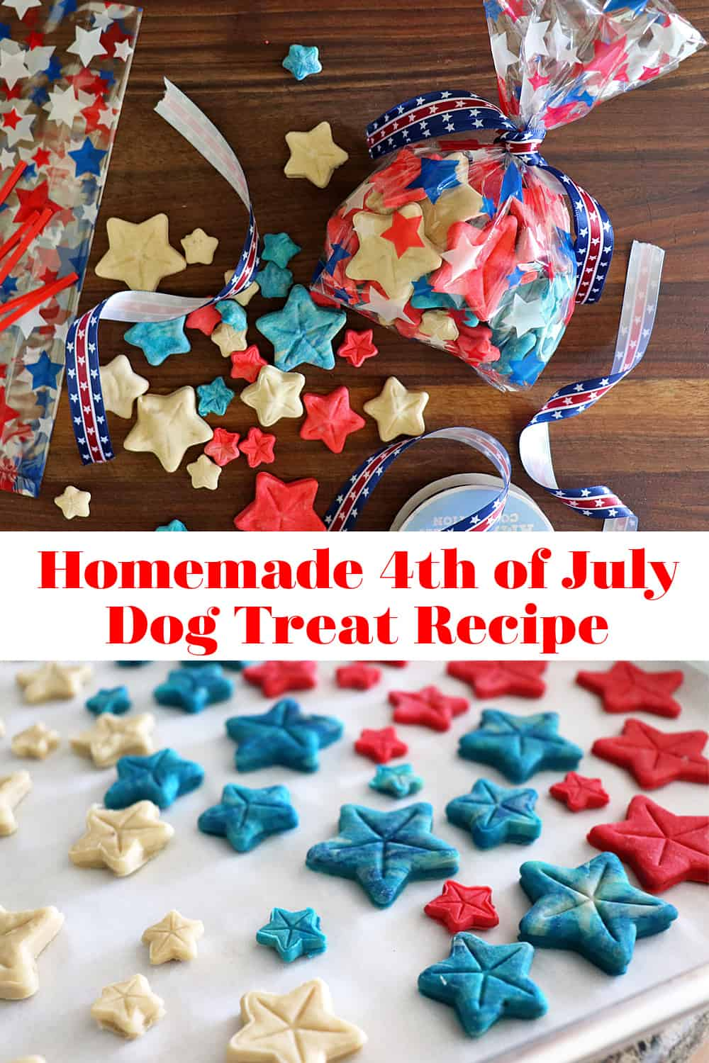 PIN for Homemade 4th of July Dog Treat Recipe